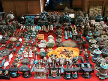religious-items-sold-market-thimphu-bhutan-october-48093772