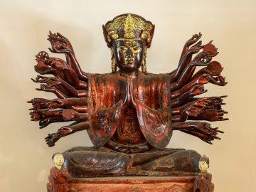 Phật bà Quan Âm chùa Hội Hạ