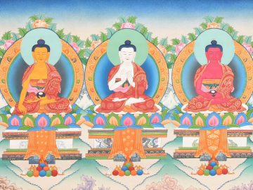 Five Buddhas